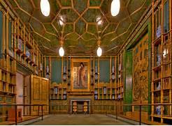 Gallery room in the Freer gallery