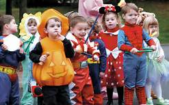 where kids eat free on Halloween