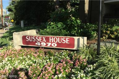 Sussex House Condos in Bethesda